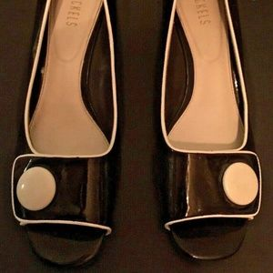 Women's Nickels Wedge Heels Shoes Open Toe 11M